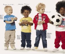 Ropa para bebés y niños Primavera Verano 2010
