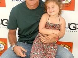 Padres famosos: Jason Bateman y su hija Francesca