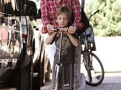 Padres famosos: Kate Hudson y su hijo Ryder