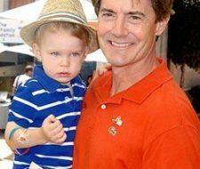Papás famosos: Kyle MacLachlan y su hijo Callum