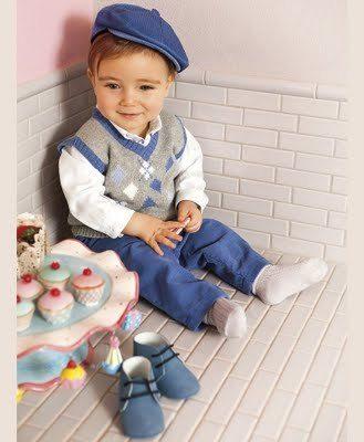 las-mejores-fotos-de-bebes-lindos-bebes-elegantes-en-la-merienda