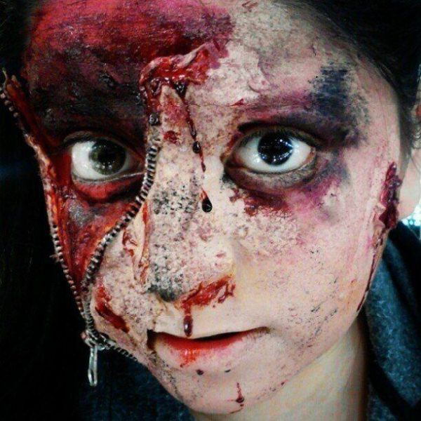 maquillaje-halloween-nino-cremallera-ojo