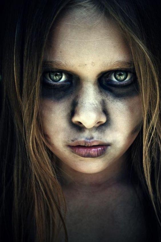 De 75 Fotos De Maquillaje Halloween 2019 Para Ninos - Maquillaje-zombie-hombre