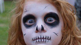 Maquillaje Halloween niños 2014