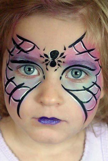 maquillaje-halloween-ninos-2014-mascara-araña