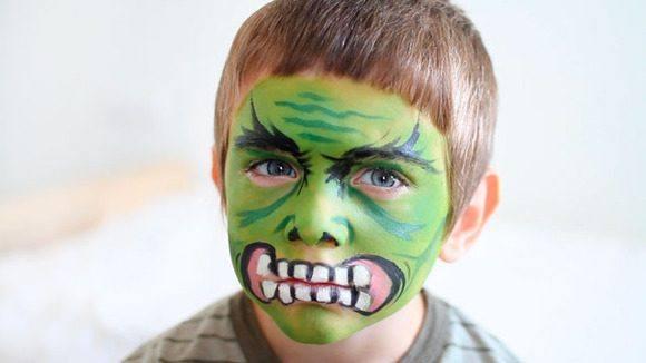maquillaje-halloween-ninos-2015-maquillaje-de-hulk