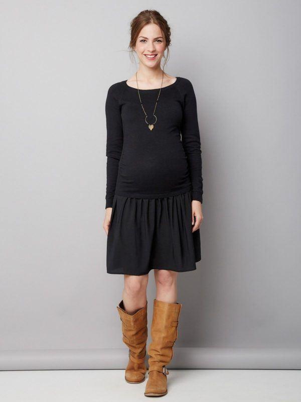 moda-de-navidad-para-embarazadas-vestidos-informal