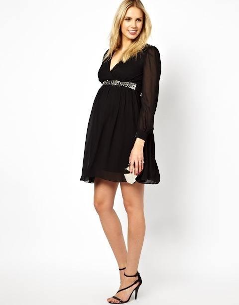 moda-de-navidad-para-embarazadas-vestidos
