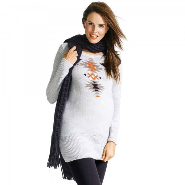 moda-para-embarazadas-Navidad-2015-jersey-largo-kiabi