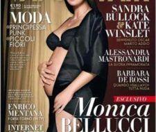 Mónica Belluci embarazada a los 45 años