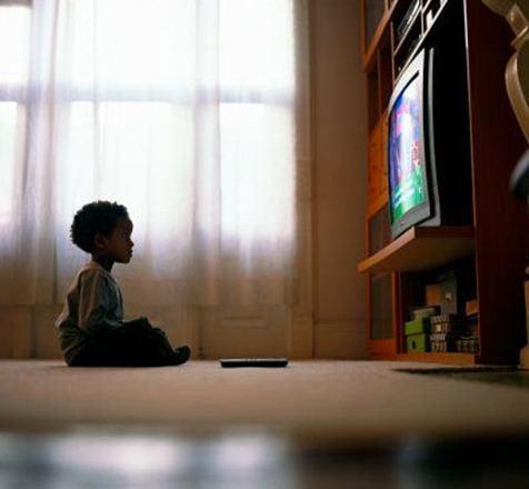 niños y television