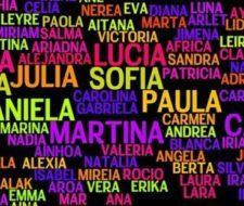 Nombres de niñas más populares de 2016