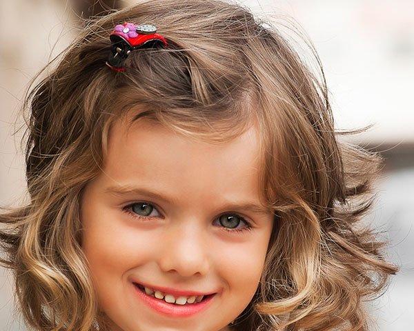 peinados para nias primavera verano cabello corto y media melena