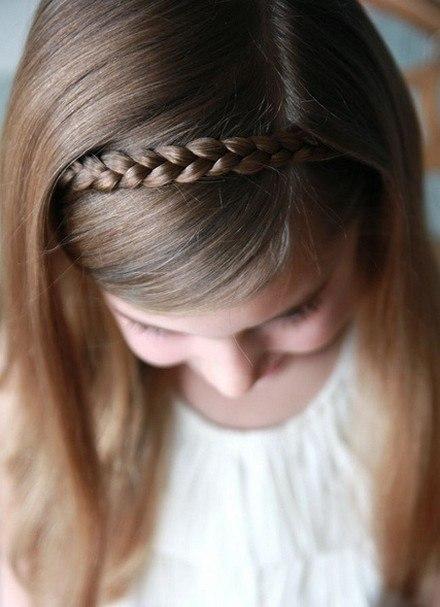 Pin barbie peinados de la on pinterest - Trenzas para nina ...