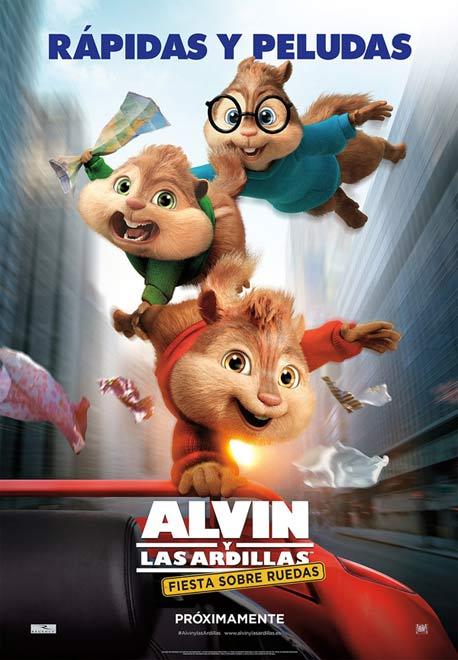 peliculas-para-ninos-2016-alvin-y-las-ardillas-fiesta-sobre-ruedas