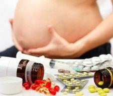 Consultar riesgos medicamentos embarazo