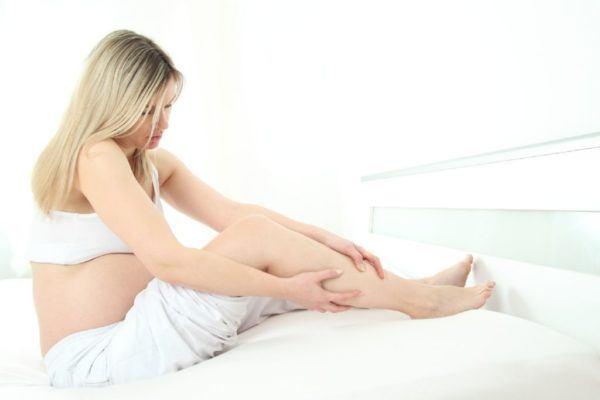 progesterona-embarazo-calambres