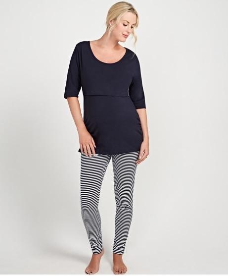 rebajas-invierno-mothercare-moda-embarazadas-pijamas