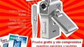 Regalos Gratis de Videocamara y USB