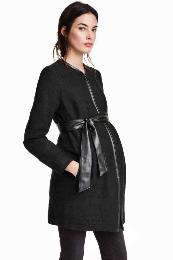 ropa-embarazada-navidad-2015-abrigo-tejido-jaquard-de-h&m