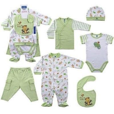La primera ropa del bebé