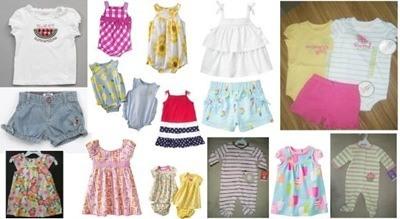 ropa verano bebe