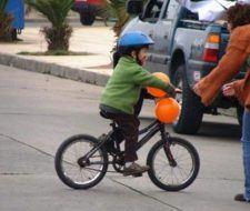 Seguridad bicicleta |niños