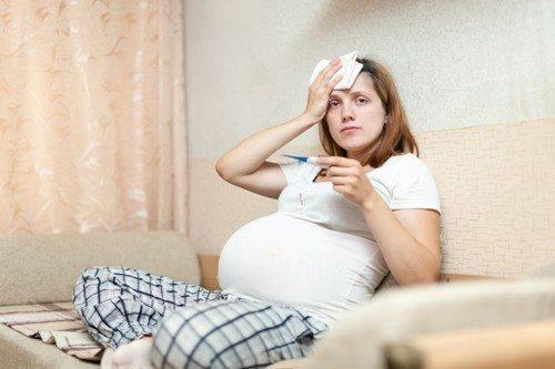 sufrir-fiebre-embarazo