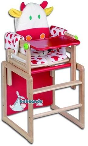 Siempre es primavera sillas para beb s for Silla de bebe de madera