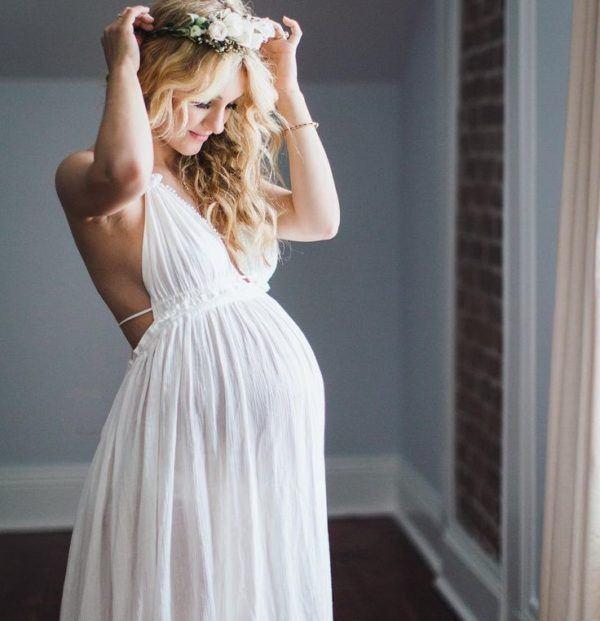 los vestidos de novia ibicencos para embarazadas se por tener el talle alto justo debajo del pecho lo que resulta muy cmodo al estar