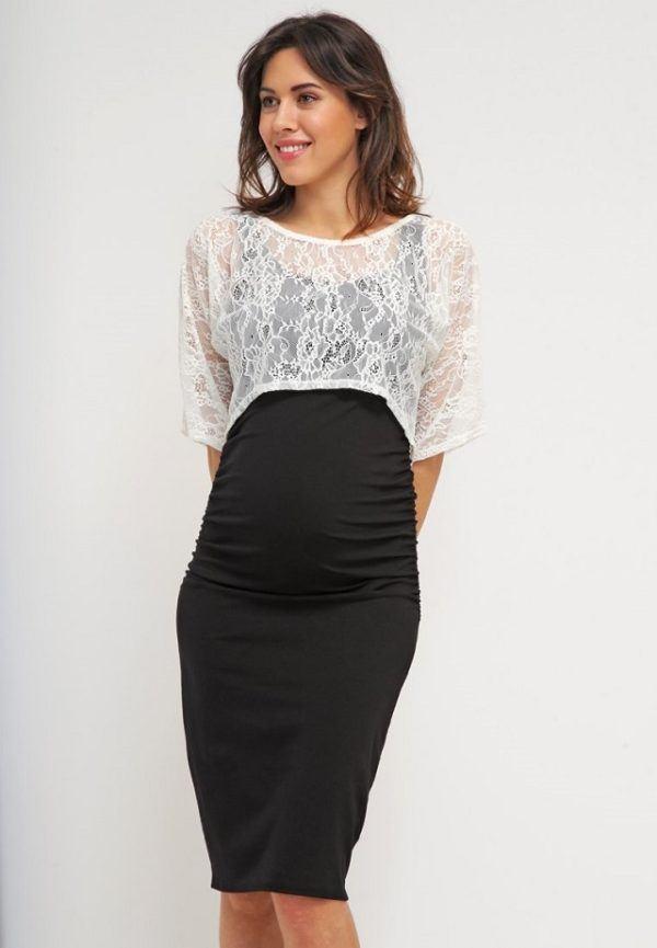 vestido embarazada elegante-sexy