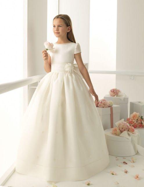 vestidos de primera comunion sencillos y bonitos