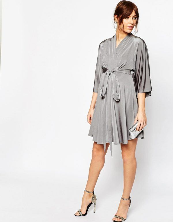 vestidos-de-fiesta-2016-moda-embarazadas-vestido-kimono-gris-asos