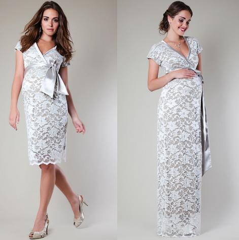 Vestidos de fiesta día y noche para mujeres embarazadas 2015-modelos-de-tiffany-rose