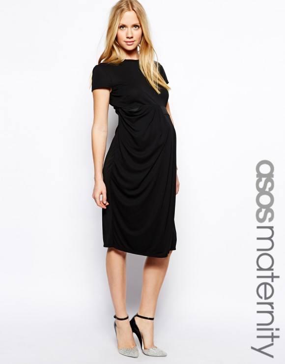 vestidos-de-fiesta-dia-y-noche-para-mujeres-embarazadas-2015-vestido-noche-negro-asos
