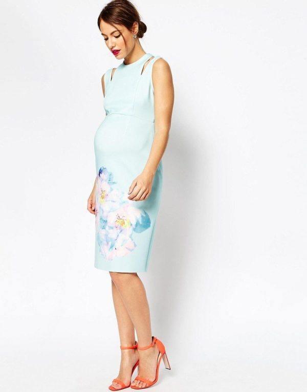 Vestidos de fiesta corto embarazadas
