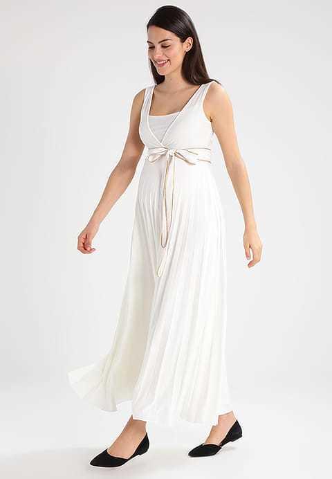 Vestidos de color blanco de verano