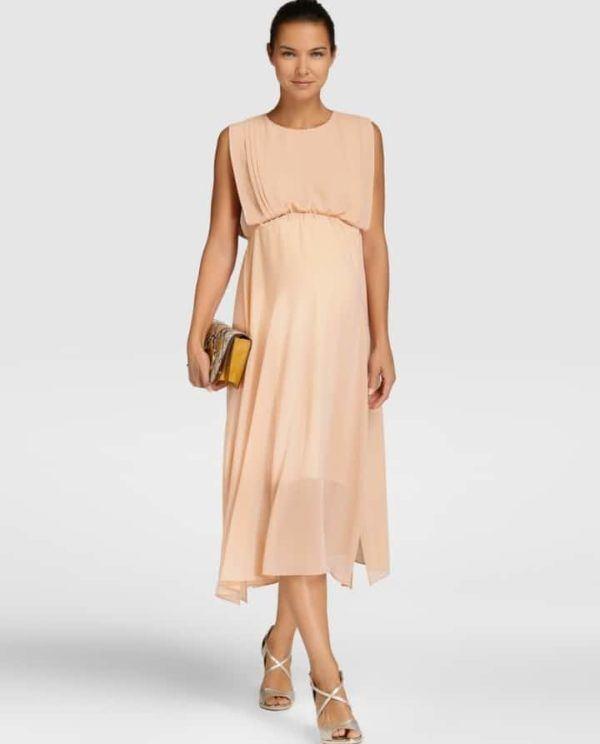 b4fc03e37 Aquí puedes ver más vestidos de madrina de boda en El Corte Inglés para  embarazadas 2019