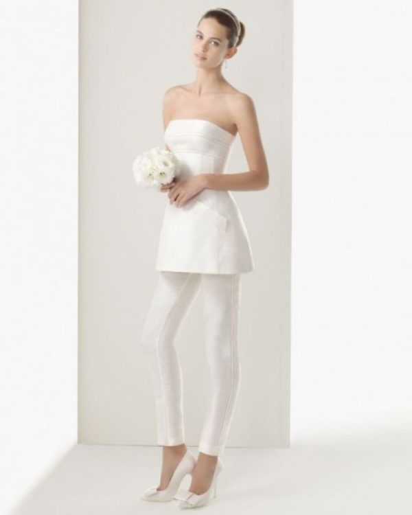 Modelos de vestidos de novia civil