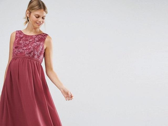 d4a3f5bc3f Vestidos de Nochevieja para embarazadas 2019 - Embarazo10.com
