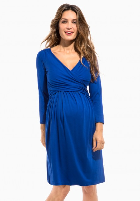 vestidos-para-embarazadas-invitadas-a-una-comunion-otono-invierno-2017-azul-ultramar