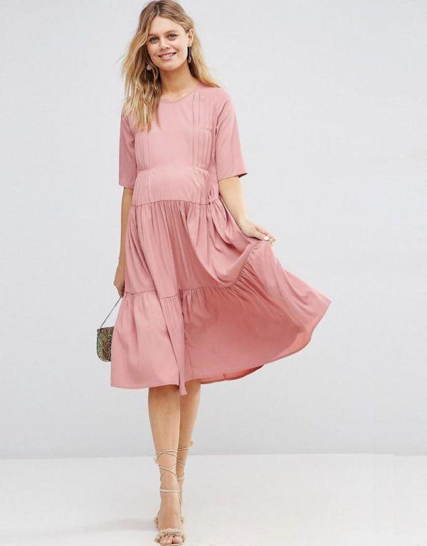 vestidos-para-embarazadas-invitadas-a-una-comunion-otono-invierno-2017-rosa-vintage