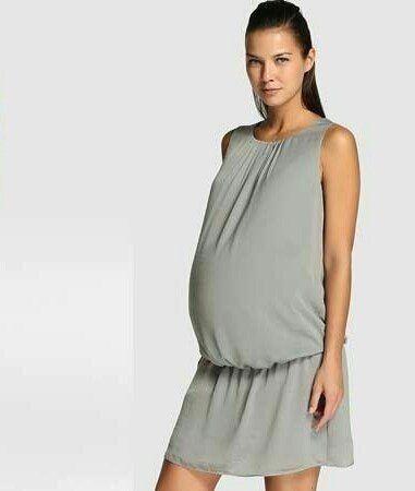 vestidos-para-embarazadas-otoño-invierno-2017-gris-marengo