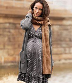 vestidos-para-embarazadas-otoño-invierno-2017-lunares