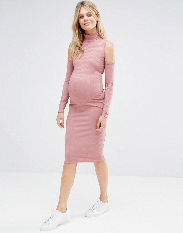 vestidos para embarazadas otoo invierno u u rosa sport