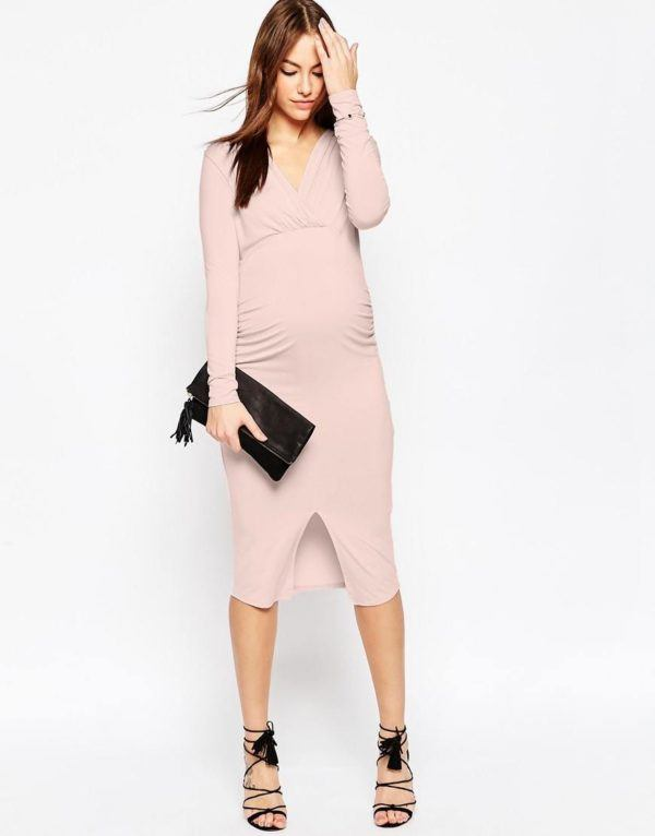 vestidos-para-embarazadas-primavera-verano-2016-color-rosa-asos