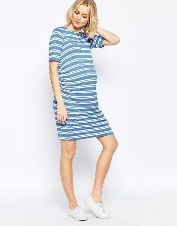 vestidos-para-embarazadas-primavera-verano-2016-modelo-rayas-azul-asos