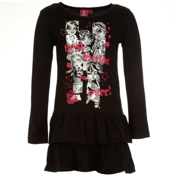 vestidos-para-ninas-verano-2014-vestido-monster-high-negro-kiabi