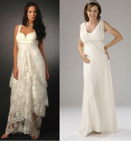 vestidos-para-novia-embarazadas-primavera-verano-2014-modelos-clasicos