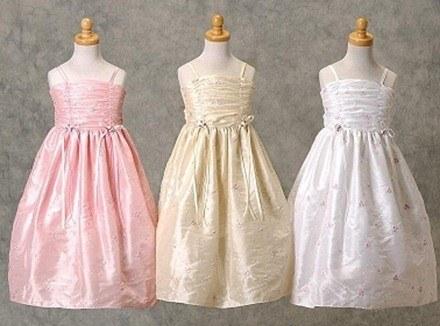 Vestidos de niñas para ceremonias de boda - Crece Bebe